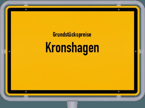 Grundstückspreise Kronshagen 2021