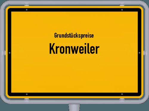 Grundstückspreise Kronweiler 2019