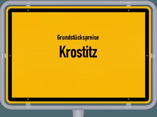 Grundstückspreise Krostitz 2019
