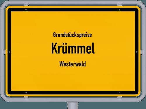 Grundstückspreise Krümmel (Westerwald) 2019