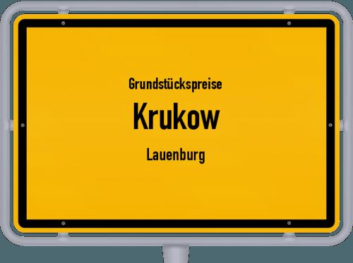 Grundstückspreise Krukow (Lauenburg) 2021