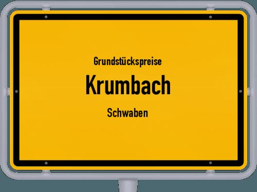 Grundstückspreise Krumbach (Schwaben) 2019
