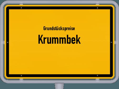 Grundstückspreise Krummbek 2021