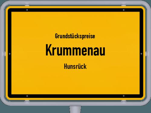 Grundstückspreise Krummenau (Hunsrück) 2019
