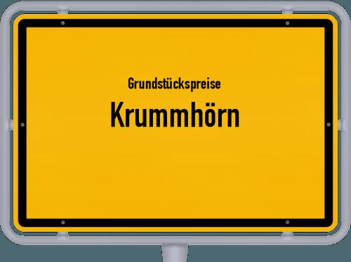 Grundstückspreise Krummhörn 2019