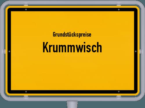 Grundstückspreise Krummwisch 2021