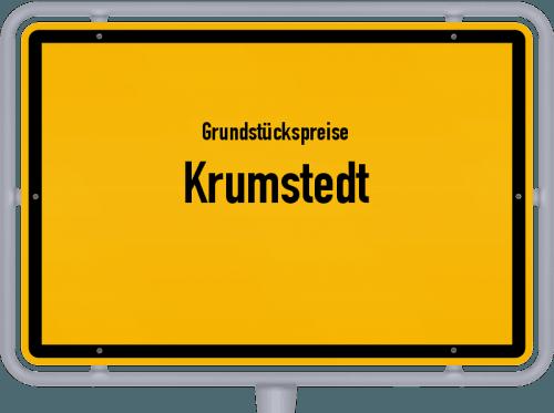 Grundstückspreise Krumstedt 2021