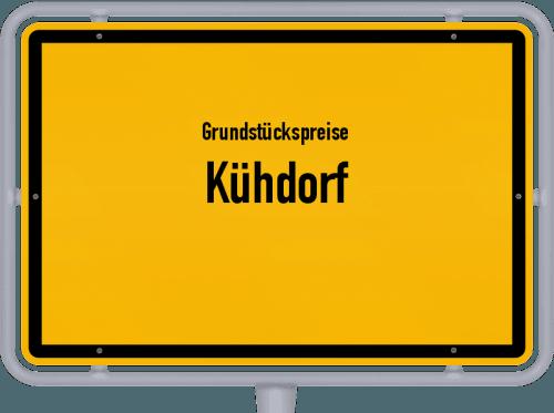Grundstückspreise Kühdorf 2019