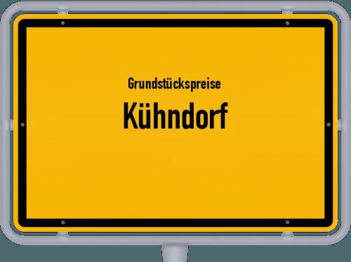 Grundstückspreise Kühndorf 2019