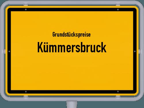 Grundstückspreise Kümmersbruck 2019