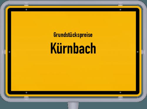 Grundstückspreise Kürnbach 2021