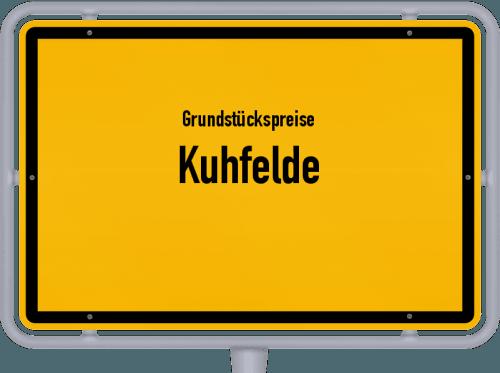 Grundstückspreise Kuhfelde 2021