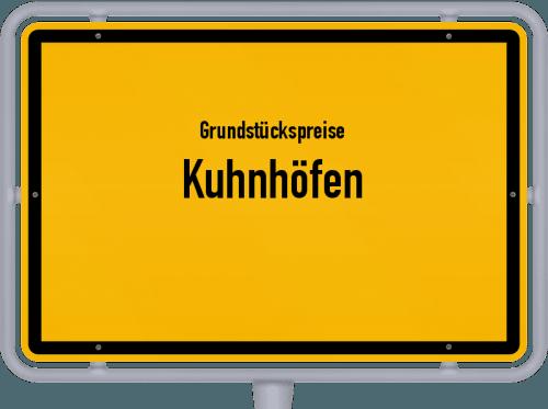 Grundstückspreise Kuhnhöfen 2019