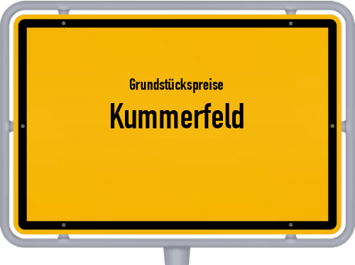 Grundstückspreise Kummerfeld 2021