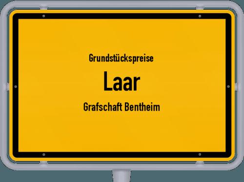 Grundstückspreise Laar (Grafschaft Bentheim) 2019