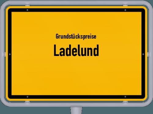Grundstückspreise Ladelund 2021
