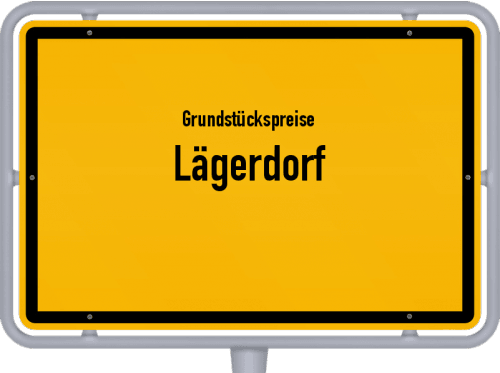 Grundstückspreise Lägerdorf 2021