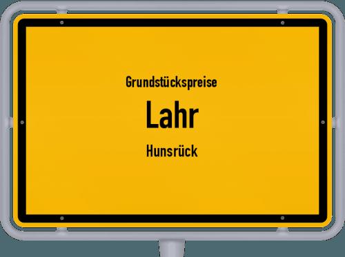 Grundstückspreise Lahr (Hunsrück) 2019
