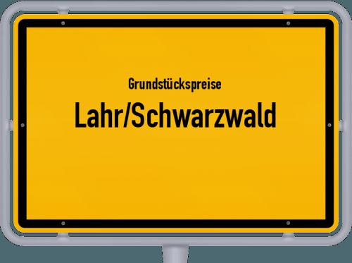 Grundstückspreise Lahr/Schwarzwald 2021
