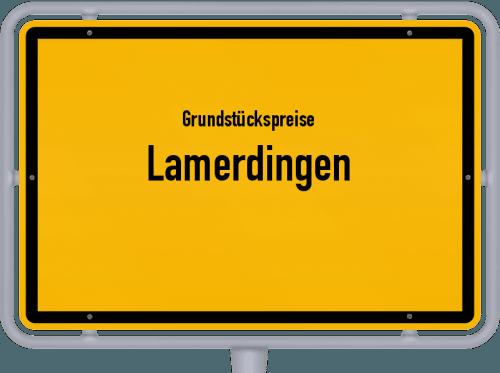 Grundstückspreise Lamerdingen 2019