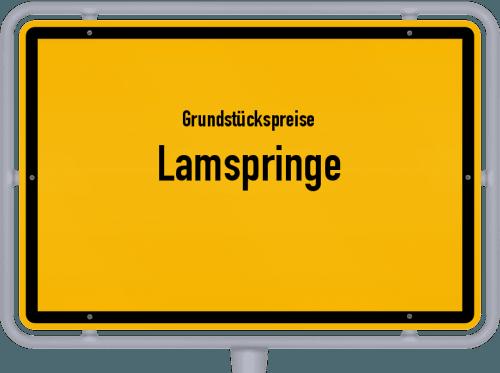 Grundstückspreise Lamspringe 2019