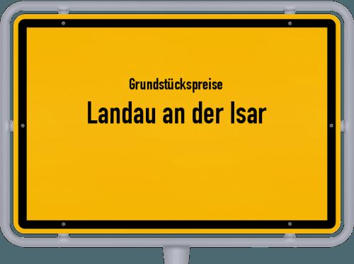 Grundstückspreise Landau an der Isar 2021