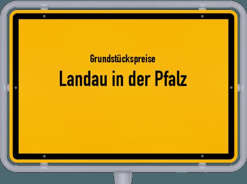 Grundstückspreise Landau in der Pfalz 2019