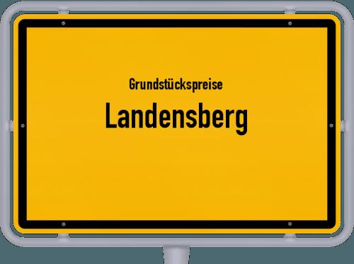 Grundstückspreise Landensberg 2019