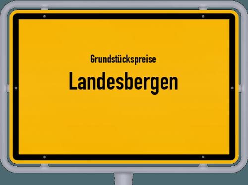 Grundstückspreise Landesbergen 2019