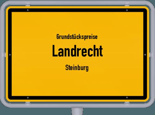 Grundstückspreise Landrecht (Steinburg) 2021