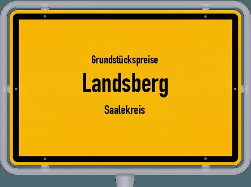 Grundstückspreise Landsberg (Saalekreis) 2021