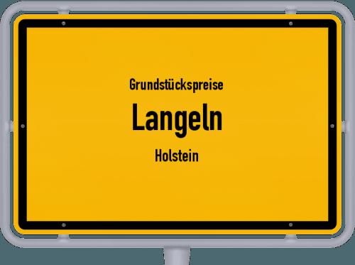 Grundstückspreise Langeln (Holstein) 2021