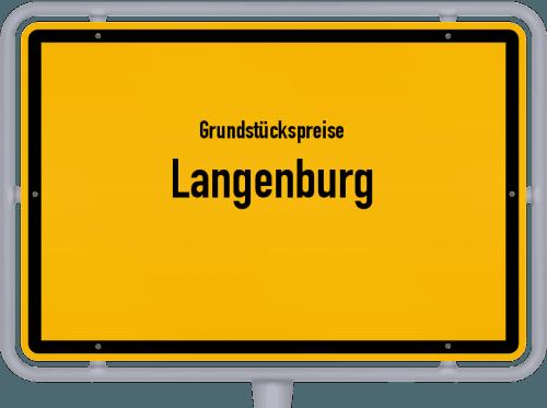Grundstückspreise Langenburg 2021