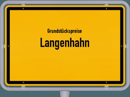 Grundstückspreise Langenhahn 2019