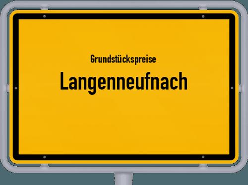 Grundstückspreise Langenneufnach 2019