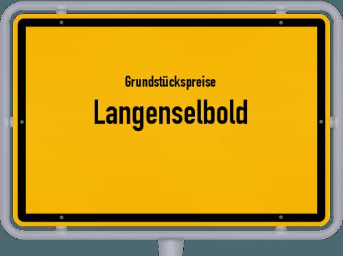 Grundstückspreise Langenselbold 2018