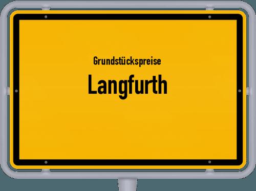 Grundstückspreise Langfurth 2019