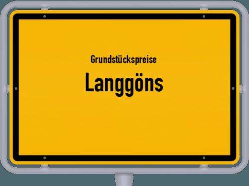 Grundstückspreise Langgöns 2018