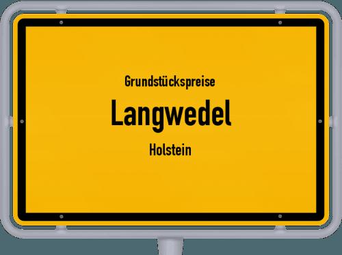 Grundstückspreise Langwedel (Holstein) 2021
