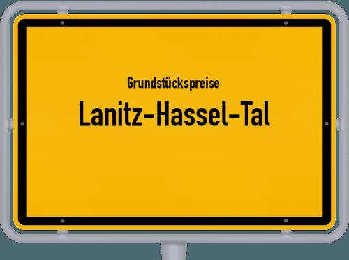 Grundstückspreise Lanitz-Hassel-Tal 2021