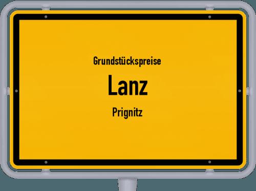 Grundstückspreise Lanz (Prignitz) 2021