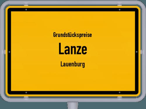 Grundstückspreise Lanze (Lauenburg) 2021