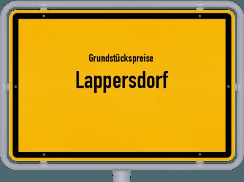 Grundstückspreise Lappersdorf 2019