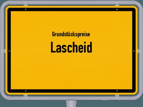 Grundstückspreise Lascheid 2019