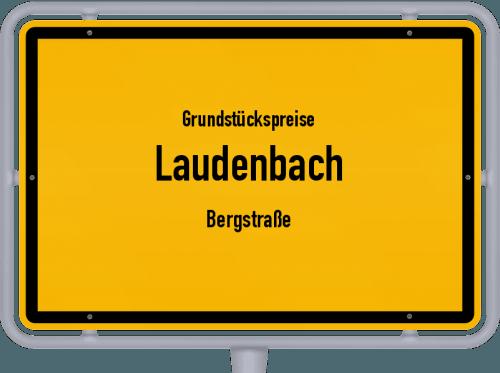 Grundstückspreise Laudenbach (Bergstraße) 2021