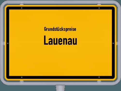 Grundstückspreise Lauenau 2019