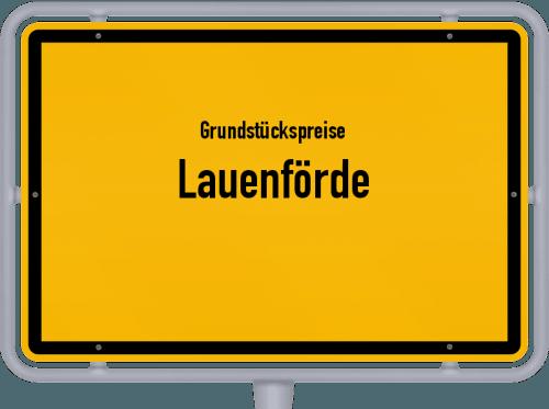 Grundstückspreise Lauenförde 2019
