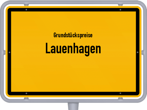 Grundstückspreise Lauenhagen 2021