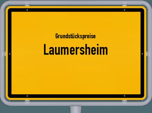 Grundstückspreise Laumersheim 2019