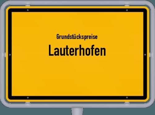 Grundstückspreise Lauterhofen 2021